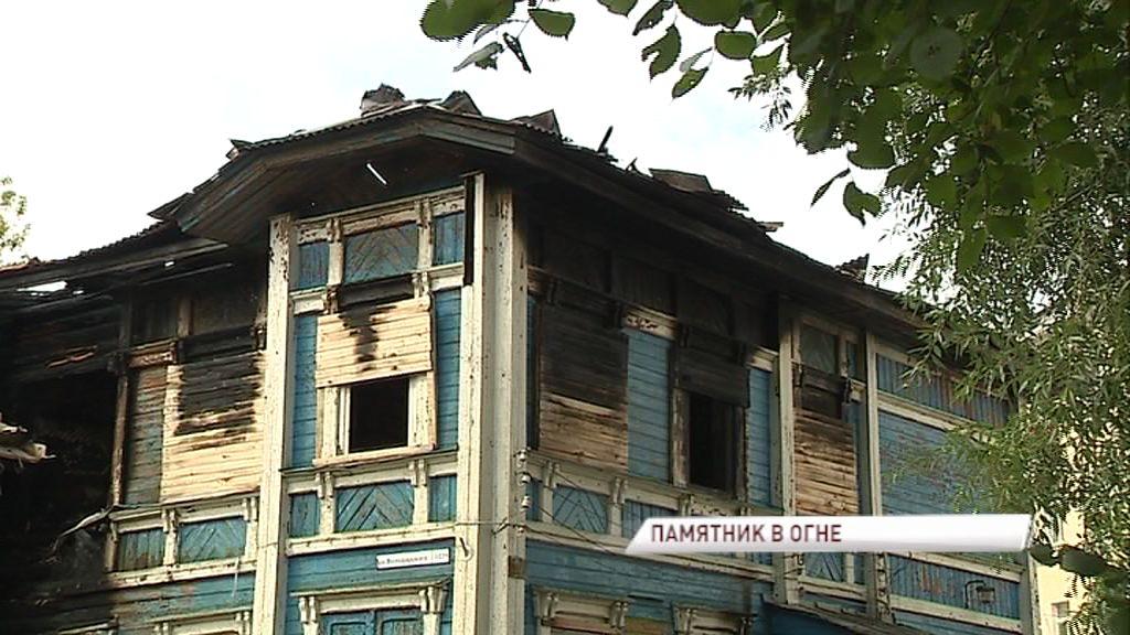Огненное ЧП: высококлассный образец деревянной архитектуры за одну ночь лишился крыши