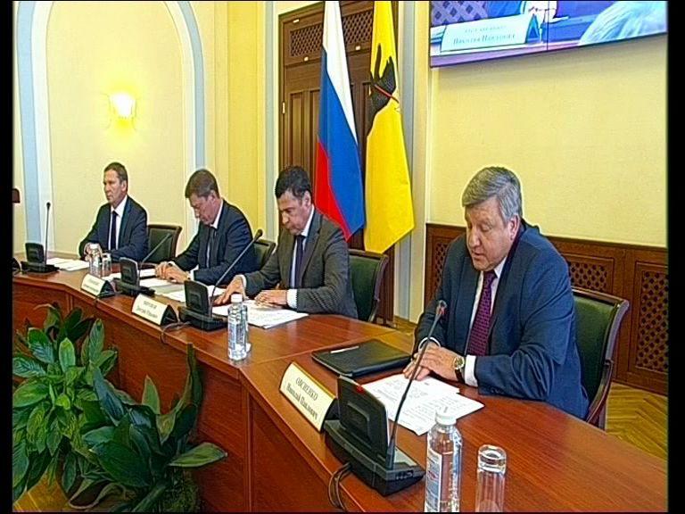 Заседание правительства Ярославской области от 22.08.18