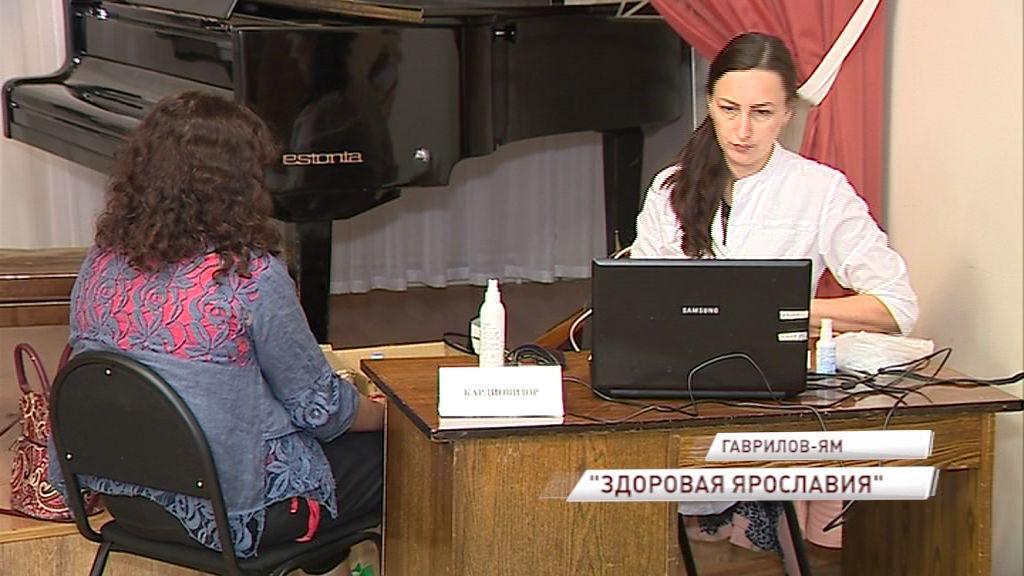 «Здоровая Ярославия» продолжает курсировать по муниципальным районам