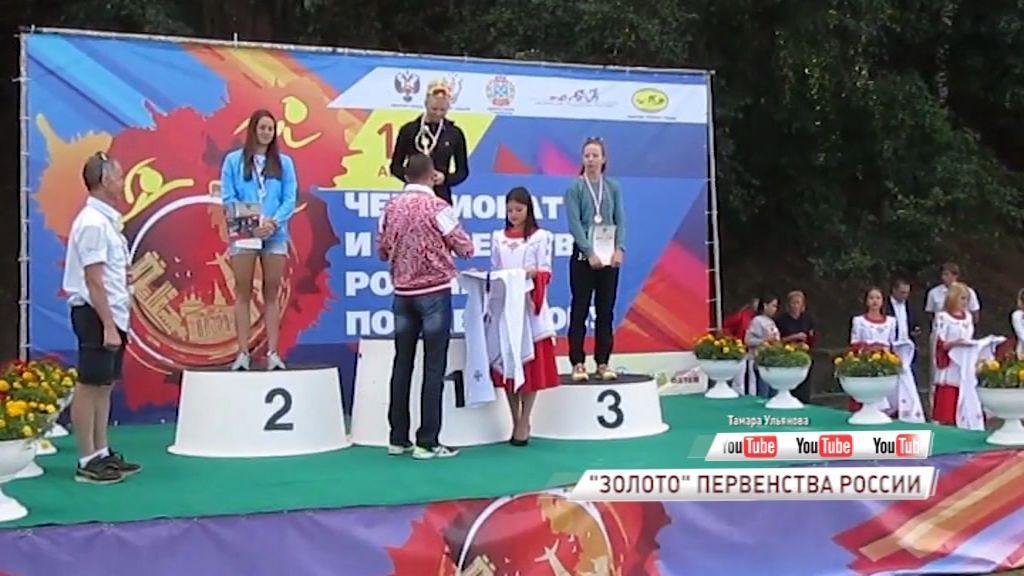 Елизавета Жижина стала чемпионкой России по акватлону