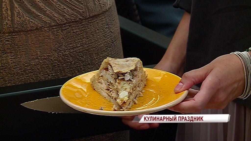 На стрит-фуд фестивале ярославцы попробую курник, луковый мармелад и вятский пирог