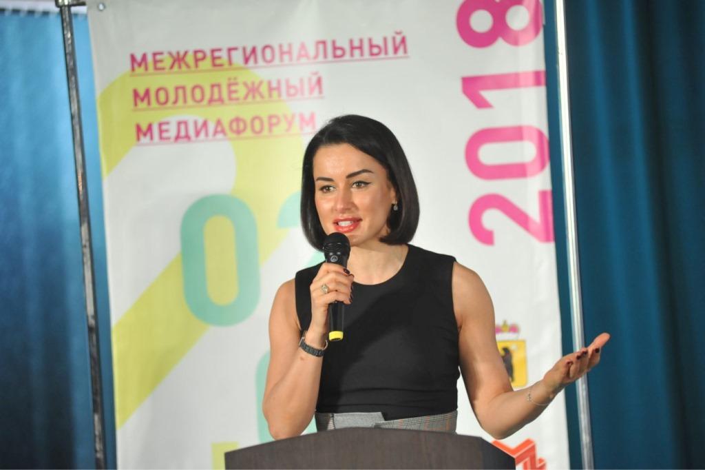 Тина Канделаки соберет команду для ярославского полумарафона