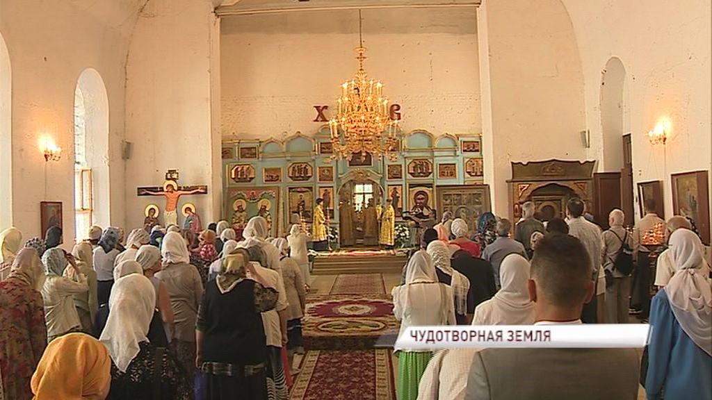 В Кирилло-Афанасиевском монастыре отметили престольный праздник