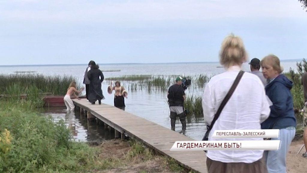 Звездный актерский состав приехал в Переславль на съемки нового фильма