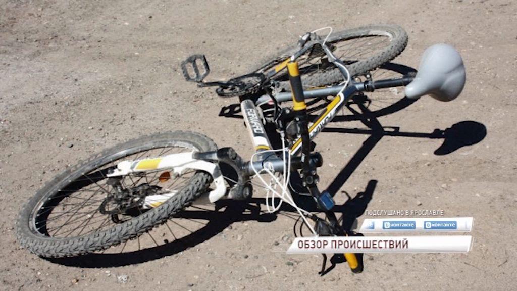 В Рыбинске под колеса иномарки попал 6-летний велосипедист
