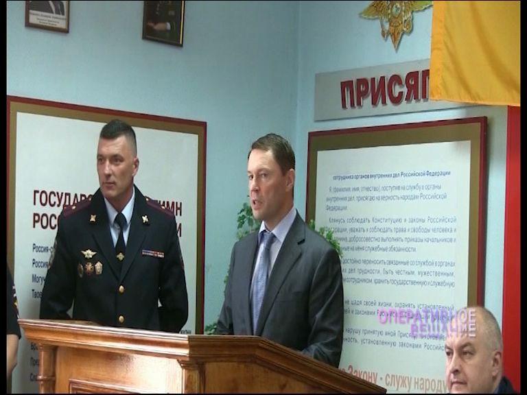 Глава областной полиции поздравил сотрудников ППС с 95-летним юбилеем подразделения