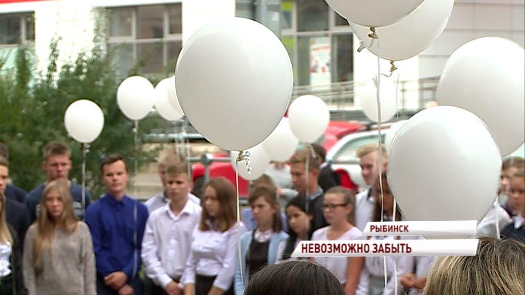 В школах области прошли акции в память о трагедии в Беслане