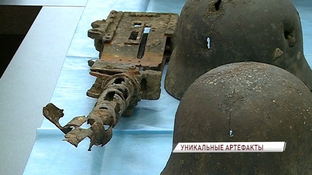 В Рыбинске нашли уникальные артефакты времен Великой Отечественной войны