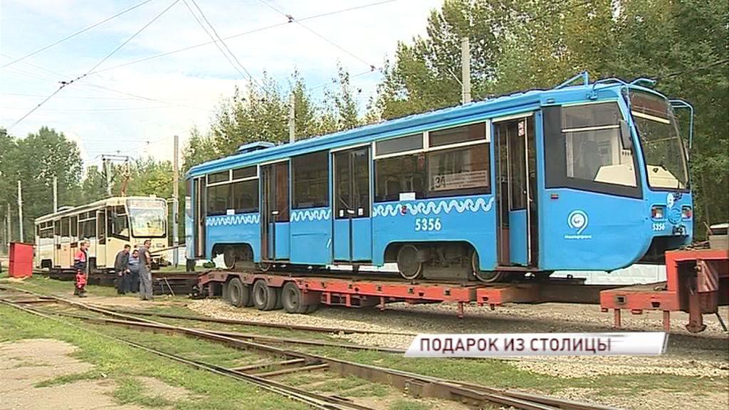 Первые трамваи из Москвы прибыли в Ярославль: как обживаются «новички» на рельсах столицы Золотого кольца