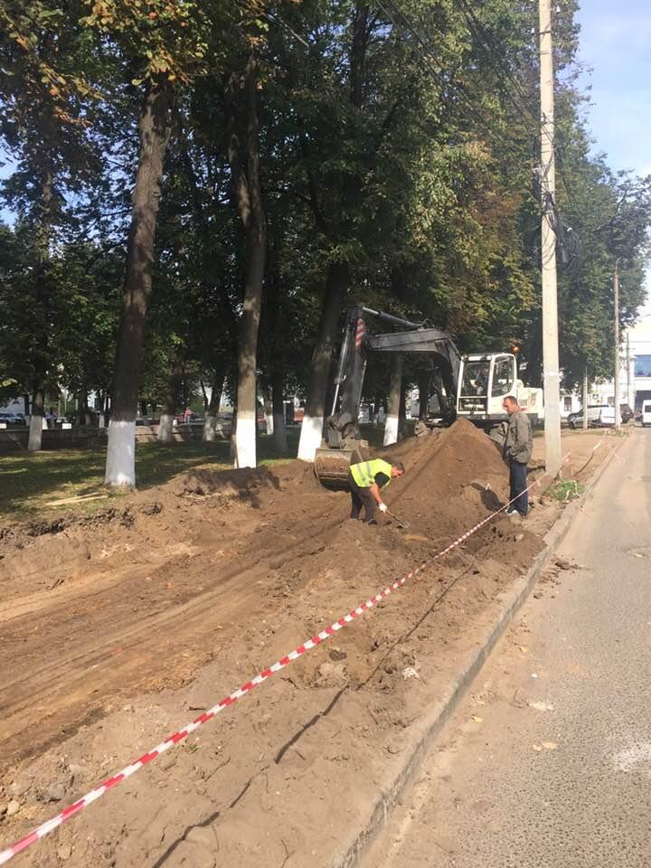 В центре Ярославля от сквера «отрезали» кусок под парковку