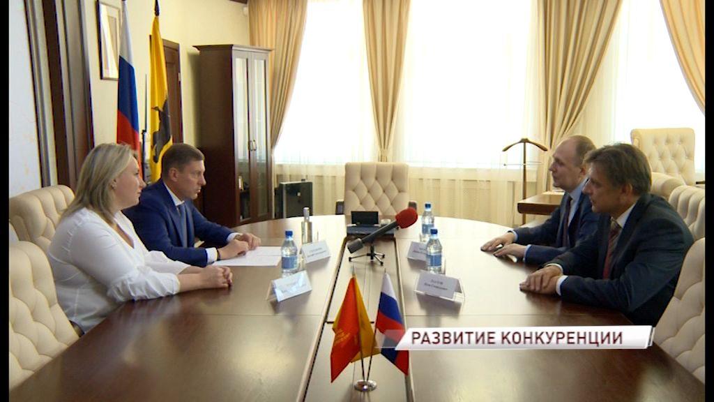 Заместитель руководителя ФАС высоко оценил результаты Ярославской области в сфере развития конкуренции