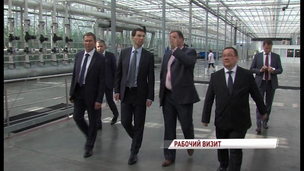 Полпред президента в ЦФО посетил ярославские предприятия и оценил новые технологии производства