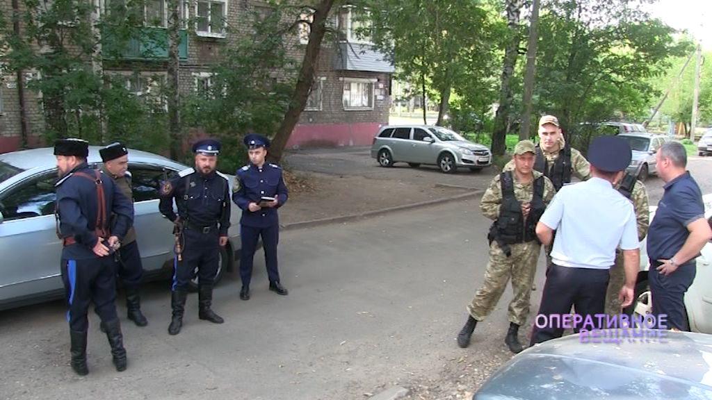Ярославские казаки вышли в рейды с инспекторами по делам несовершеннолених