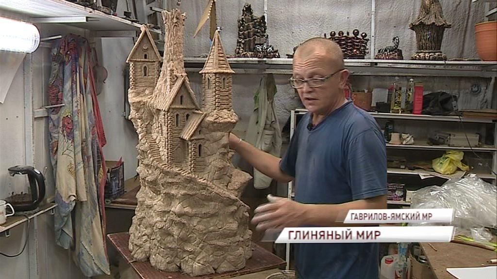 От хобби к делу жизни: мастер из поселка Гагарино создает настоящие шедевры из глины