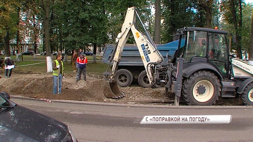 В центре Ярославля обустроят новую парковку в рамках ремонта улиц Чайковского и Салтыкова-Щедрина