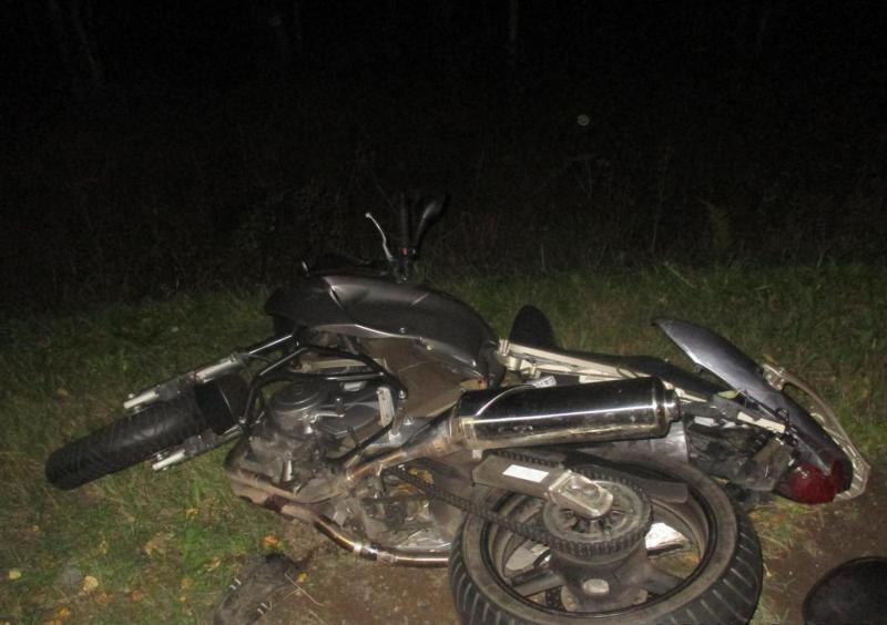 В Рыбинском районе после столкновения с «десяткой» погиб мотоциклист