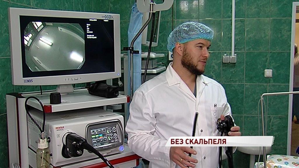 Ярославские хирурги смогут лечить заболевания желудочно-кишечного тракта быстрее и эффективнее