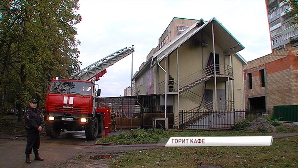 Пожар в Дзержинском районе: что тушили