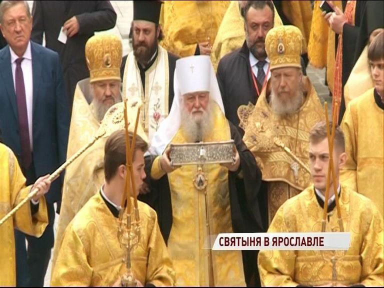 В Ярославль прибыли мощи святого Спиридона Тримифунтского