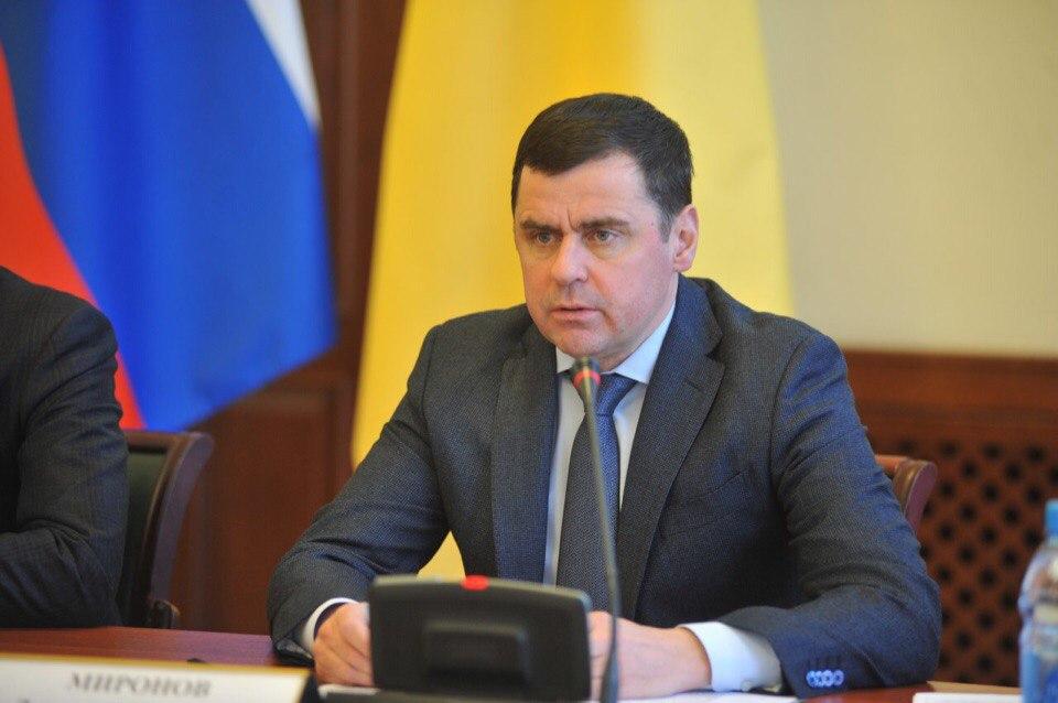 Дмитрий Миронов занял девятое место в рейтинге эффективности глав регионов