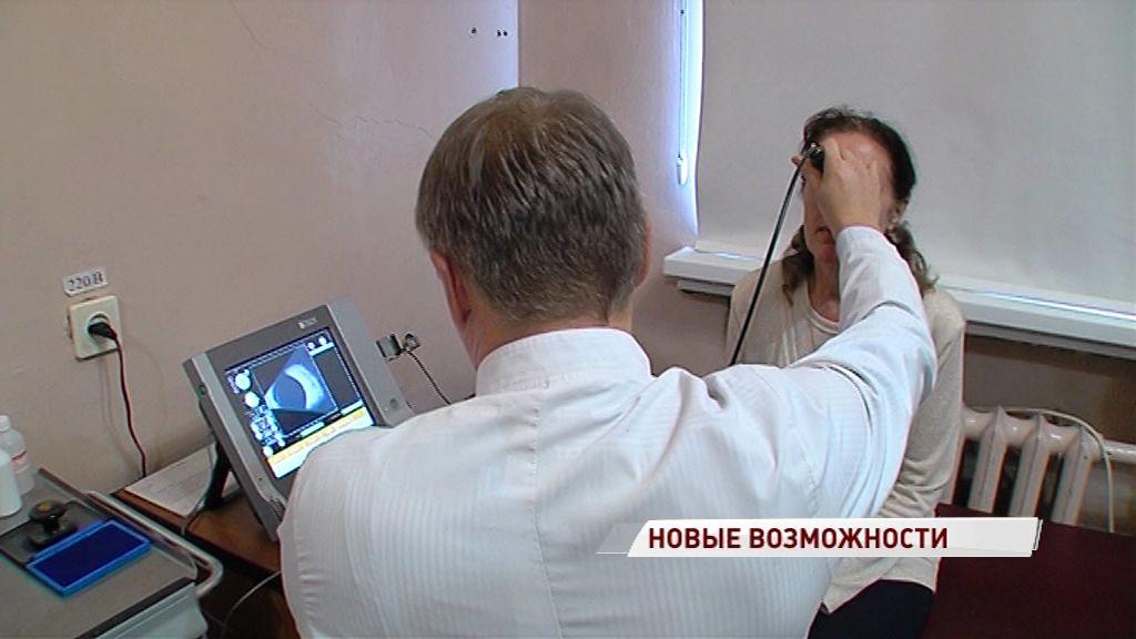 В ярославскую больницу поступил новый офтальмологический аппарат УЗИ