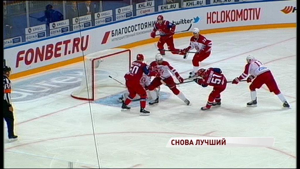 Форвард «Локомотива» второй раз в сезоне признан самым ценным новичком недели в КХЛ