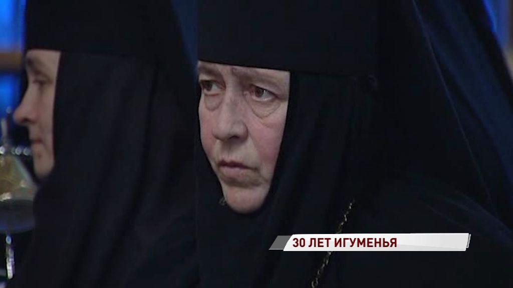Настоятельница Толгского монастыря отметила 30-летие игуменства