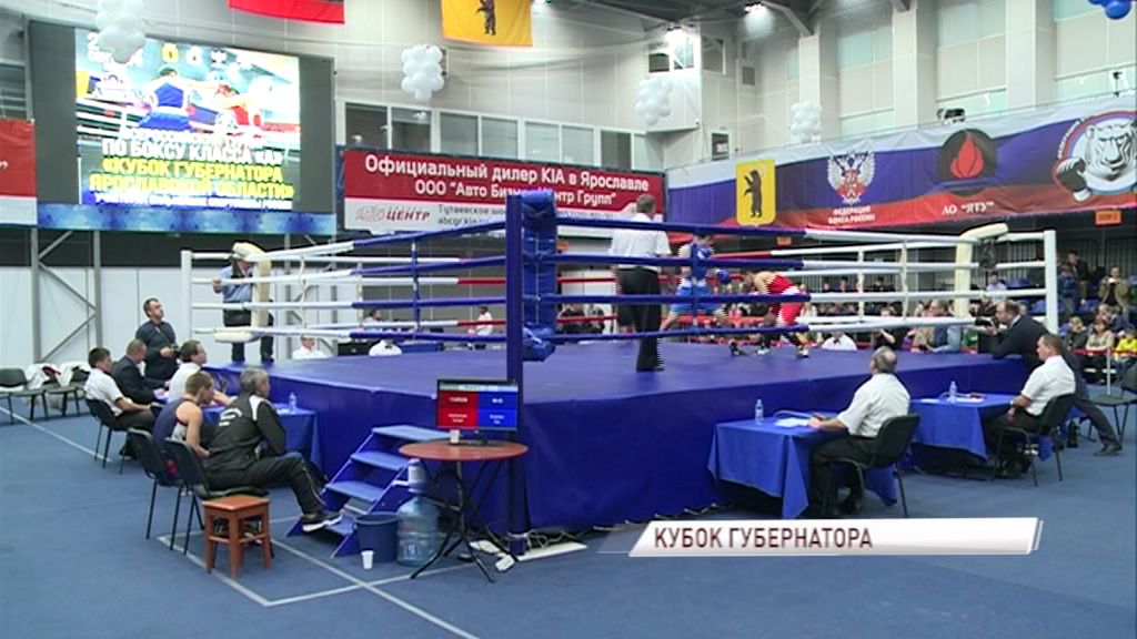 В Ярославле стартовал кубок губернатора области по боксу
