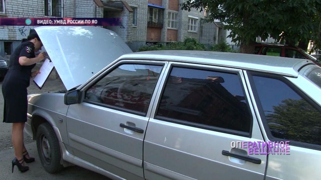 В Ярославле поймали автоугонщика в полукилометре от места преступления