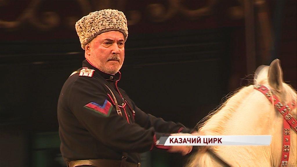 В Ярославле продолжаются гастроли цирка «Кубанские казаки»