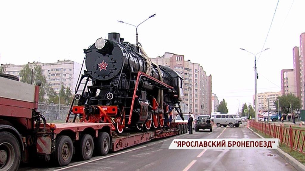 Перед спортивным комплексом «Локомотив» будет стоять паровоз-памятник