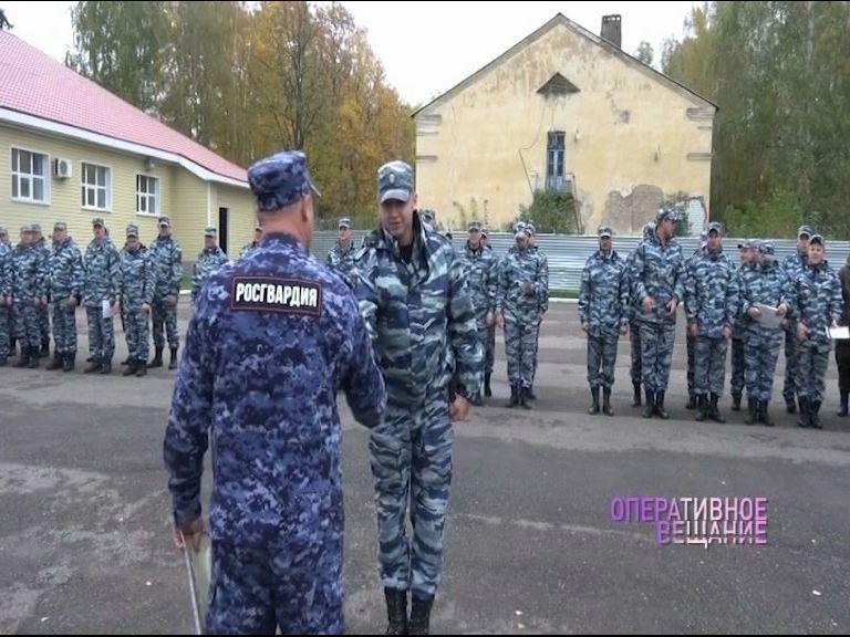 Ярославские ОМОНовцы принимали поздравления с юбилеем образования подразделения