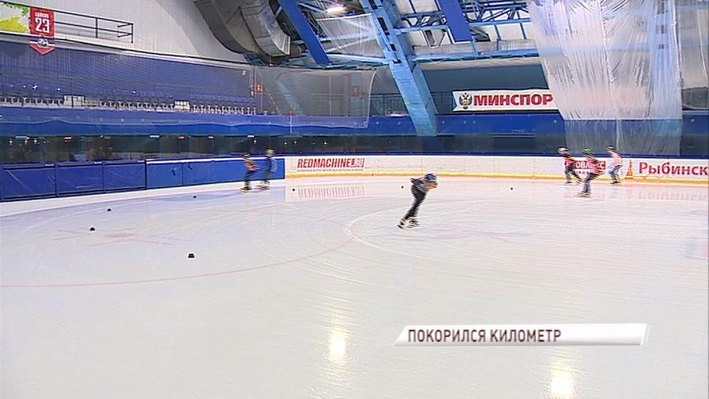 Рыбинец выиграл забег на Кубке союза конькобежцев России по шорт-треку