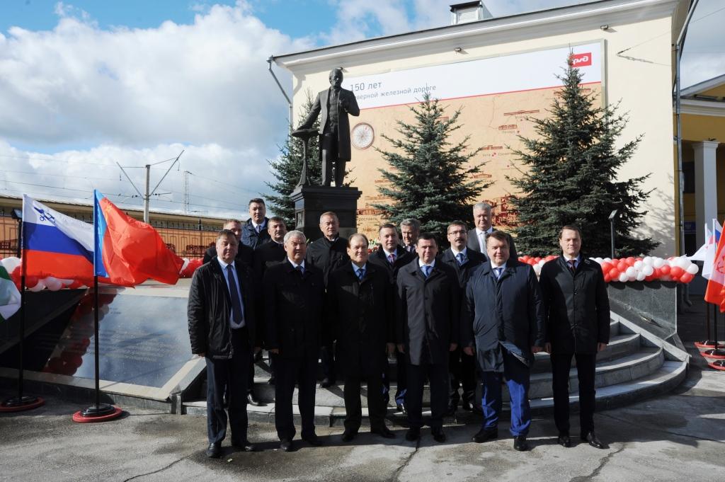 Дмитрий Миронов поздравил железнодорожников с 150-летием СЖД