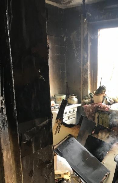 В Рыбинске загорелась квартира: погиб пожилой хозяин