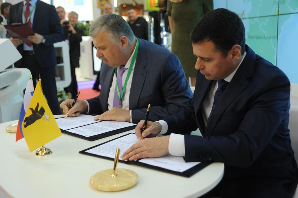 Дмитрий Миронов: «В первый день «Золотой осени» подписано пять важных соглашений на сумму шесть миллиардов рублей»