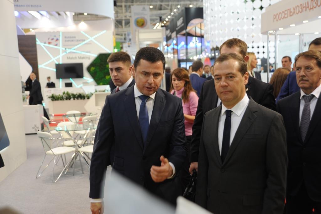 Первый день «Золотой осени»: чем Ярославская область удивила участников выставки