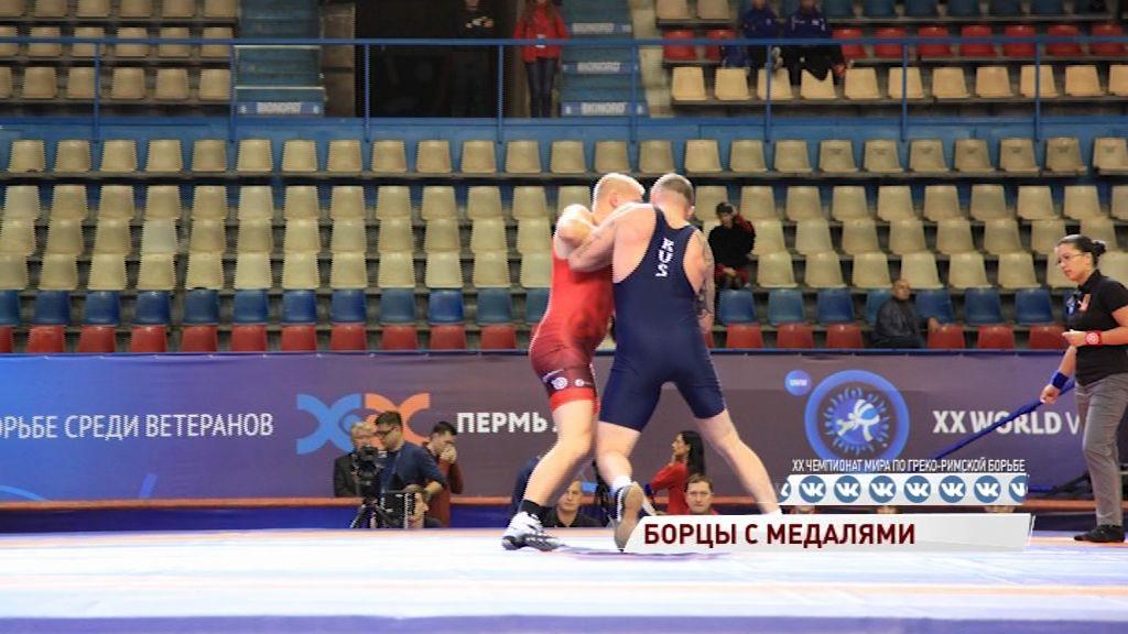 Ярославские борцы привезли три медали с чемпионата мира