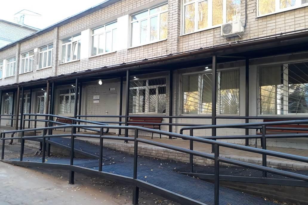 В ярославской детской поликлинике появилась новая входная группа