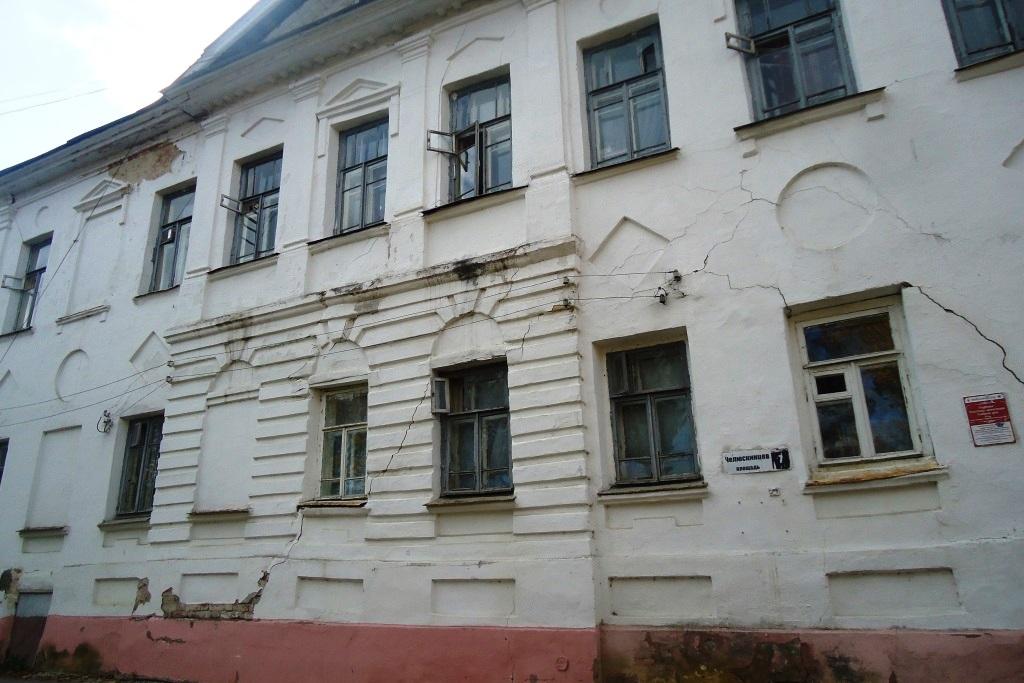 Пять исторических зданий в центре Ярославля находятся в плохом состоянии