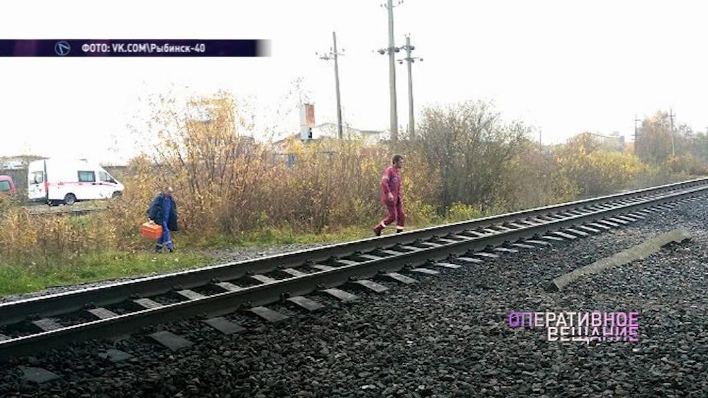 Жительница Рыбинска погибла под колесами поезда