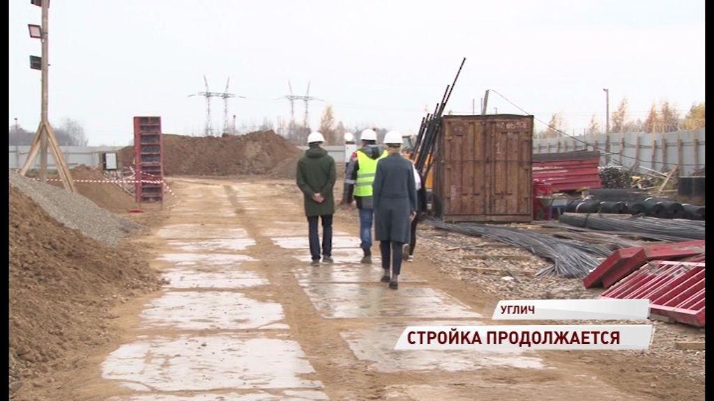 Стройка в разгаре: фундамент нового ФОКа в Угличе почти уложен