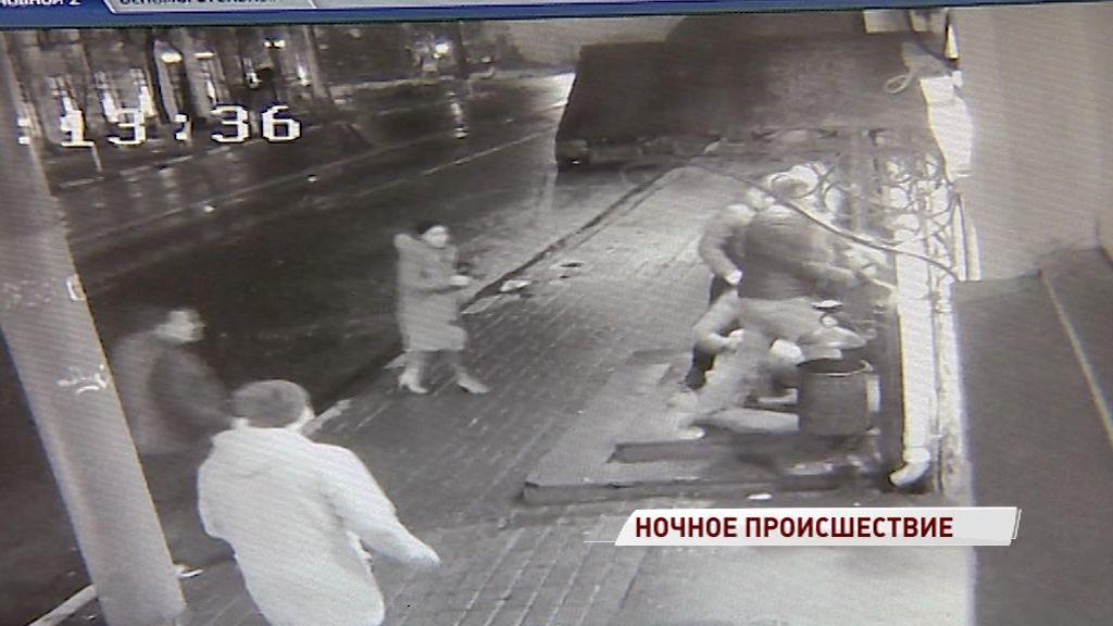 Появилось видео драки у бара на улице Свободы, в которой погиб директор ярославского АТП