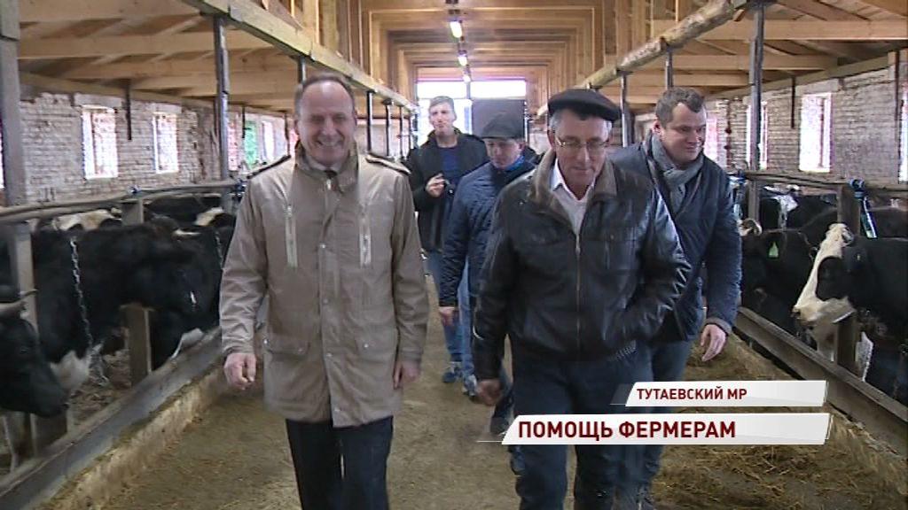 Депутаты облдумы оценили условия работы на фермах в ходе рабочей поездки