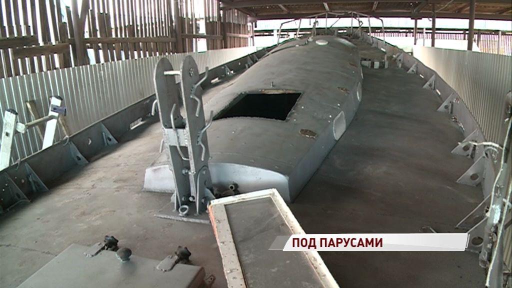 Старейшая яхта Ярославля обретет новую жизнь в качестве площадки для обучения