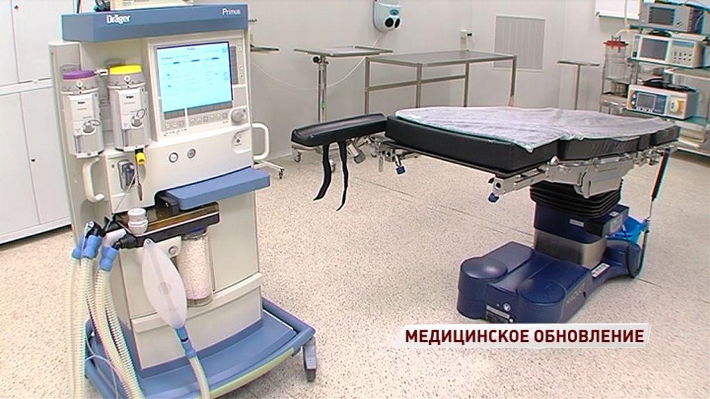 В больнице имени Соловьева появилось новое оборудование для проведения сложных операций