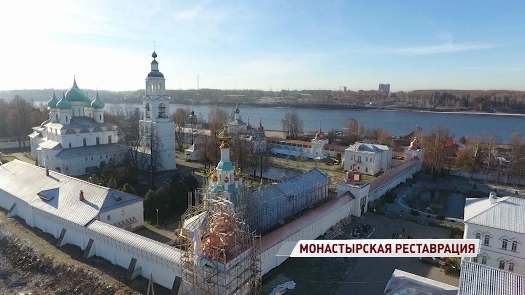 Толгский монастырь продолжают реставрировать: как проходят работы