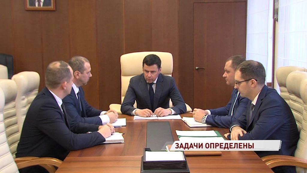Дмитрий Миронов провел совещание с новым главой Ростовского района
