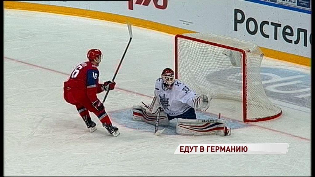 Хоккеисты «Локомотива» вызваны в состав олимпийской сборной страны