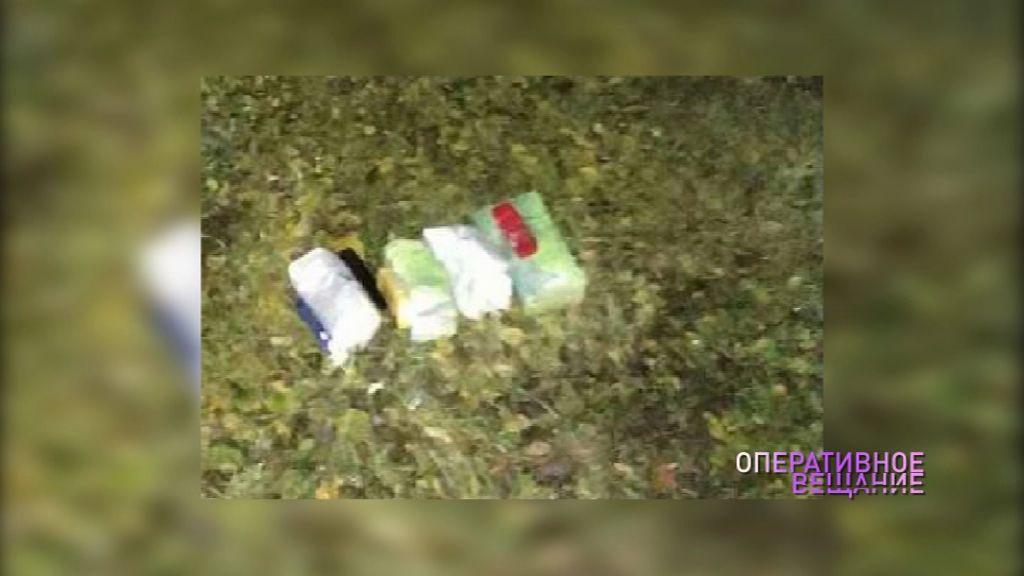 Полиция поймала 22-летнего парня, перебрасывавшего наркотики в колонию
